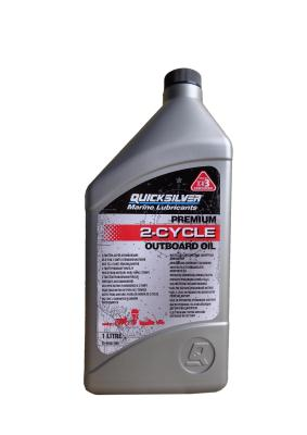 Quicksilver Premium 2-Cycle Outboard Oil TC-W3 .